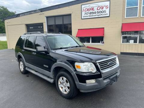 2006 Ford Explorer for sale at I-Deal Cars LLC in York PA