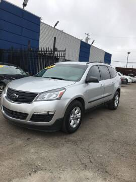 2013 Chevrolet Traverse for sale at Legacy Motors in Detroit MI