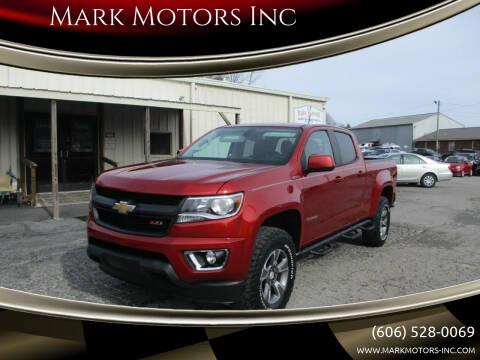 2016 Chevrolet Colorado for sale at Mark Motors Inc in Gray KY