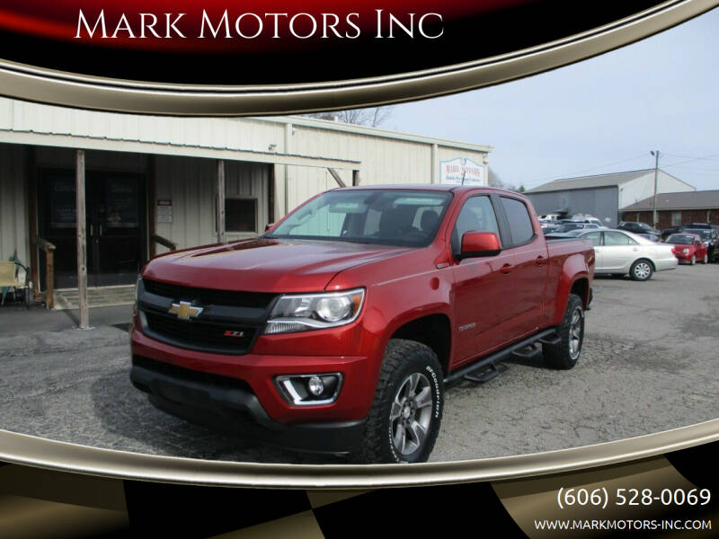 2016 Chevrolet Colorado for sale at Mark Motors Inc in Gray KY