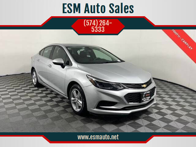 2018 Chevrolet Cruze for sale at ESM Auto Sales in Elkhart IN