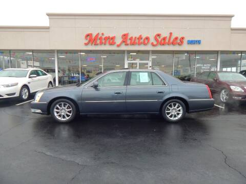 2010 Cadillac DTS for sale at Mira Auto Sales in Dayton OH