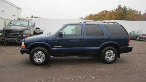 2003 Chevrolet Blazer for sale at Superior Auto of Negaunee in Negaunee MI