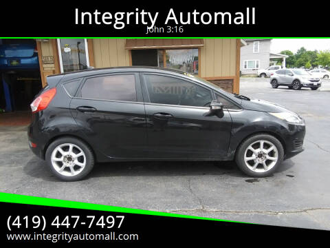 2014 Ford Fiesta for sale at Integrity Automall in Tiffin OH