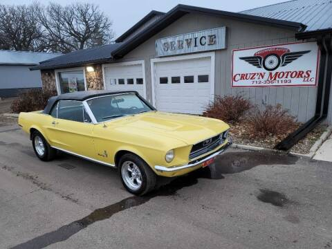 1968 Ford Mustang for sale at CRUZ'N MOTORS - Classics in Spirit Lake IA