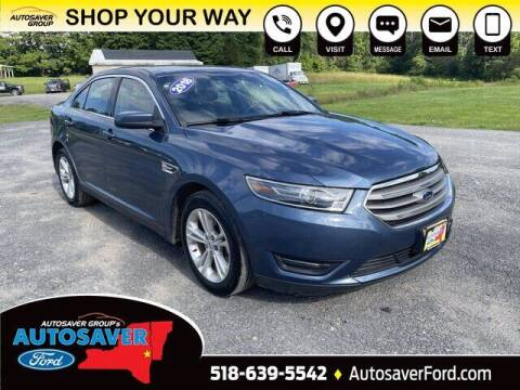 2018 Ford Taurus for sale at Autosaver Ford in Comstock NY