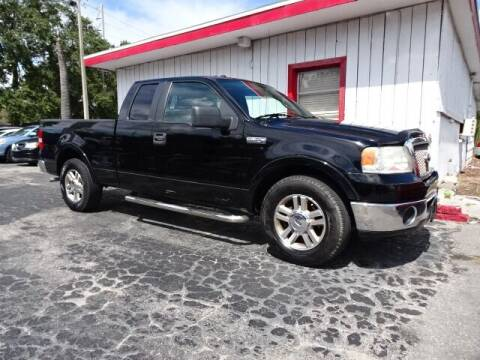 2007 Ford F-150 for sale at DONNY MILLS AUTO SALES in Largo FL