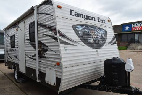 2014 Forest River Canyon Cat 19RB for sale at Buy Here Pay Here RV in Burleson TX