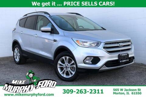 2018 Ford Escape for sale at Mike Murphy Ford in Morton IL