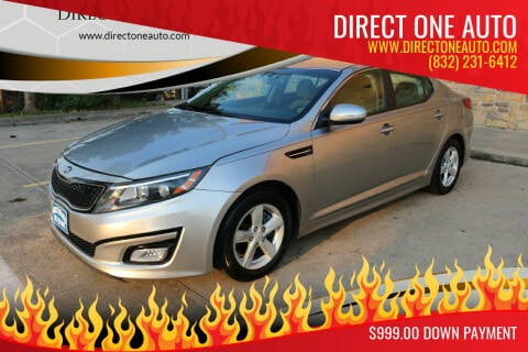 2015 Kia Optima for sale at Direct One Auto in Houston TX