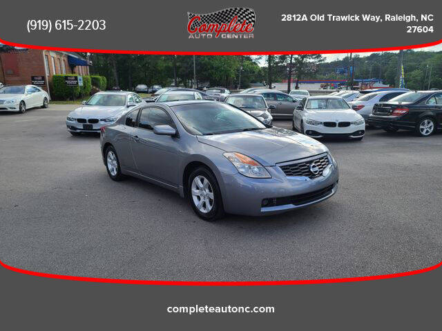 2009 Nissan Altima for sale at Complete Auto Center , Inc in Raleigh NC