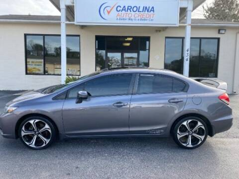 2015 Honda Civic for sale at Carolina Auto Credit in Youngsville NC