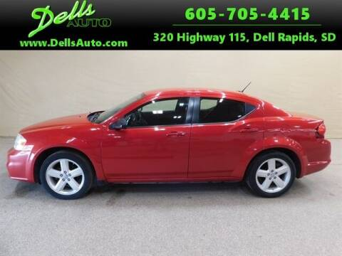 2013 Dodge Avenger for sale at Dells Auto in Dell Rapids SD