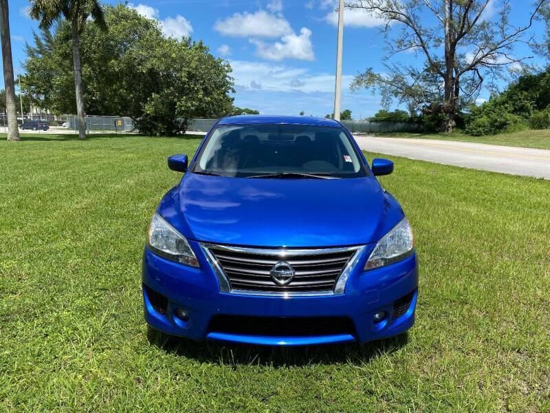 2013 Nissan Sentra for sale at Nation Autos Miami in Hialeah FL