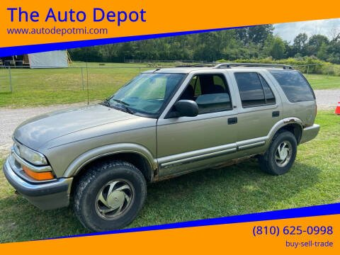 2000 Chevrolet Blazer for sale at The Auto Depot in Mount Morris MI