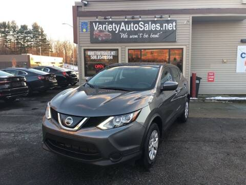2019 Nissan Rogue Sport for sale at Variety Auto Sales in Worcester MA