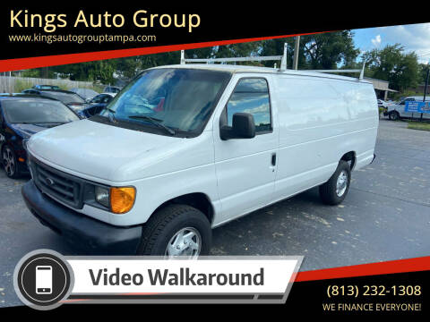 2006 Ford E-Series Cargo for sale at Kings Auto Group in Tampa FL