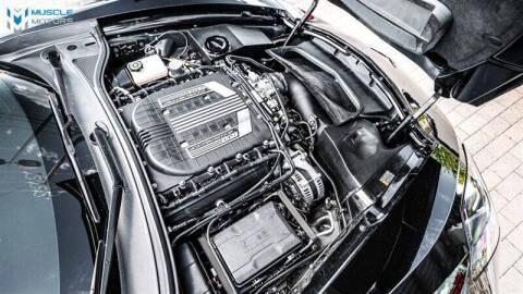 2016 Chevrolet Corvette for sale at MUSCLE MOTORS AUTO SALES INC in Reno NV