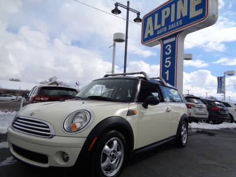 2009 MINI Cooper Clubman for sale at Alpine Auto Sales in Salt Lake City UT