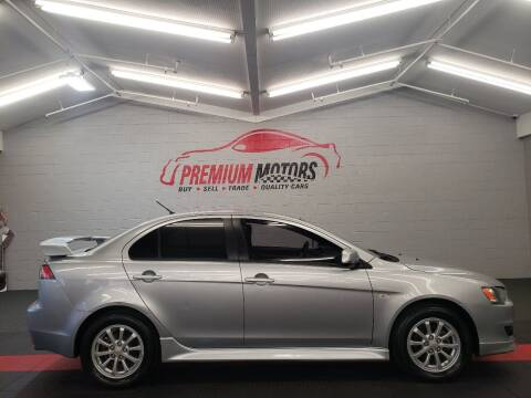 2010 Mitsubishi Lancer for sale at Premium Motors in Villa Park IL