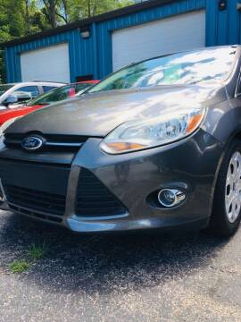 2012 Ford Focus for sale at Thompson Auto Diagnostics / Auto Sales Division in Mishawaka IN