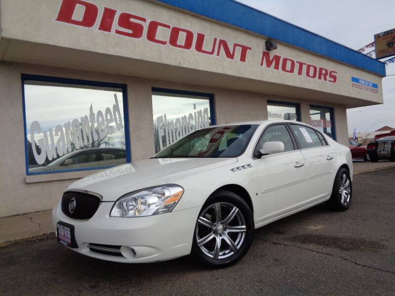 2007 Buick Lucerne for sale at Discount Motors in Pueblo CO