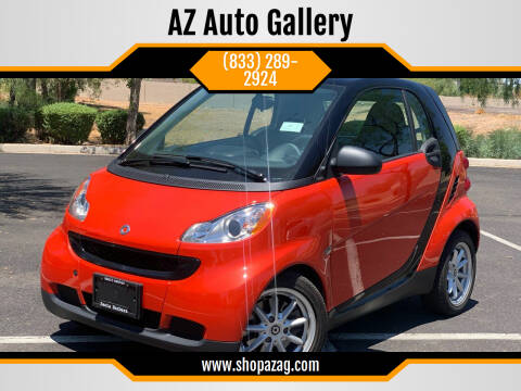 2008 Smart fortwo for sale at AZ Auto Gallery in Mesa AZ