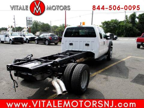 2011 Ford F-550 Super Duty for sale at Vitale Motors in South Amboy NJ