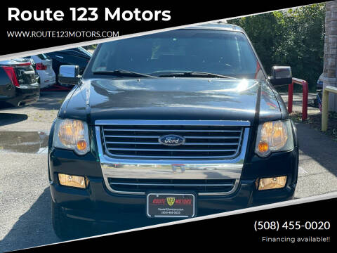 2006 Ford Explorer for sale at Route 123 Motors in Norton MA