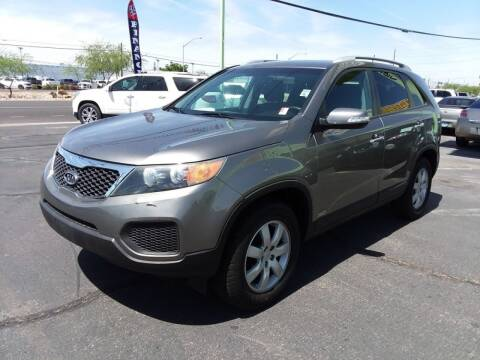 2011 Kia Sorento for sale at ALOHA USED CARS in Las Vegas NV