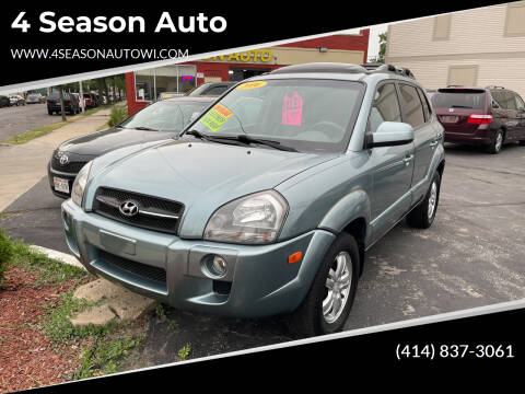 2006 Hyundai Tucson for sale at 4 Season Auto in Milwaukee WI
