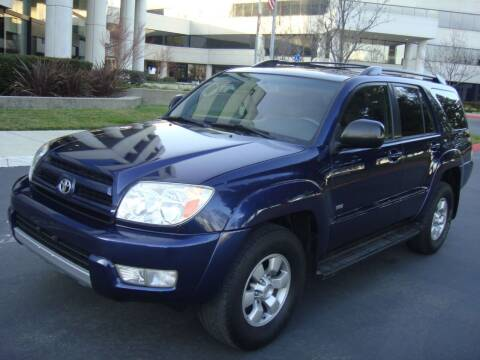 2004 Toyota 4Runner for sale at UTU Auto Sales in Sacramento CA