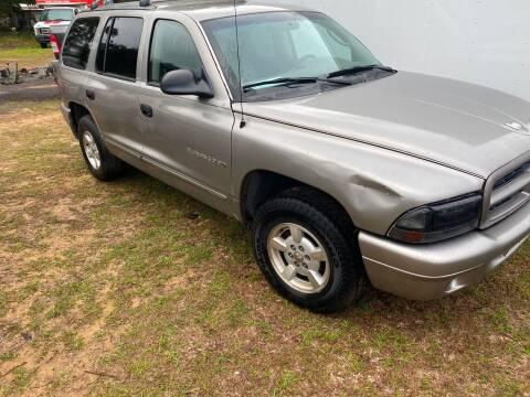 2001 Dodge Durango for sale at Nash's Auto Sales Used Car Dealer in Milton FL