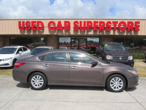 2016 Nissan Altima for sale at Checkered Flag Auto Sales NORTH in Lakeland FL