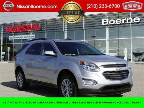 2016 Chevrolet Equinox for sale at Nissan of Boerne in Boerne TX