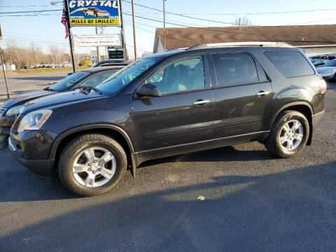 2011 GMC Acadia for sale at CRYSTAL MOTORS SALES in Rome NY