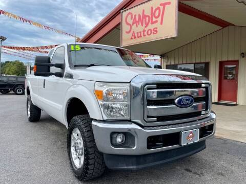 2015 Ford F-250 Super Duty for sale at Sandlot Autos in Tyler TX