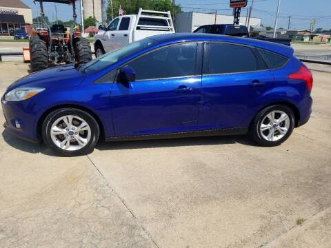 2012 Ford Focus for sale at C4 AUTO GROUP in Claremore OK