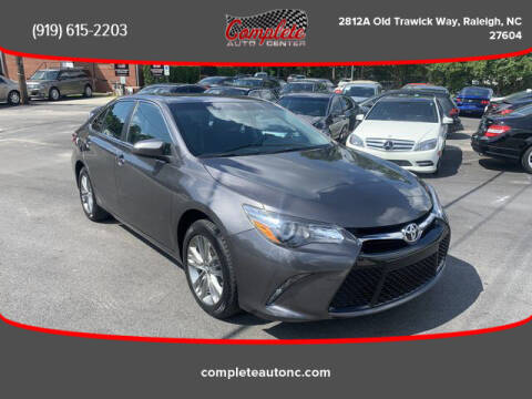 2017 Toyota Camry for sale at Complete Auto Center , Inc in Raleigh NC