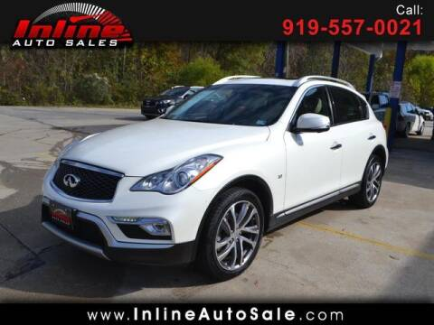 2016 Infiniti QX50 for sale at Inline Auto Sales in Fuquay Varina NC