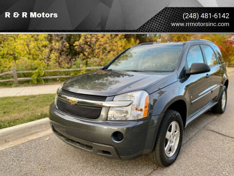 2009 Chevrolet Equinox for sale at R & R Motors in Waterford MI