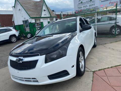 2014 Chevrolet Cruze for sale at GO GREEN MOTORS in Denver CO