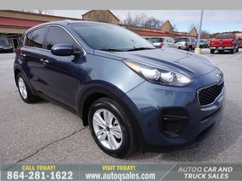 2019 Kia Sportage for sale at Auto Q Car and Truck Sales in Mauldin SC