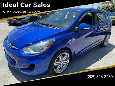 2013 Hyundai Accent for sale at Ideal Car Sales in Los Banos CA