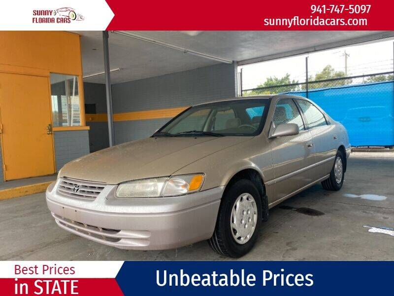 1998 Toyota Camry for sale at Sunny Florida Cars in Bradenton FL