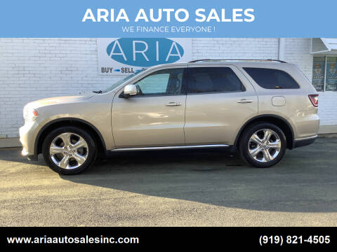 2014 Dodge Durango for sale at ARIA  AUTO  SALES in Raleigh NC