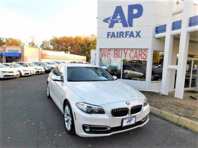 2016 BMW 5 Series for sale at AP Fairfax in Fairfax VA