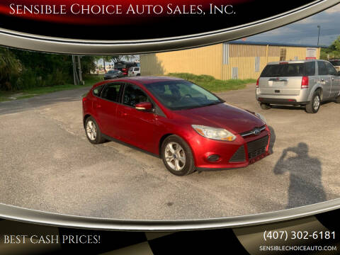 2014 Ford Focus for sale at Sensible Choice Auto Sales, Inc. in Longwood FL