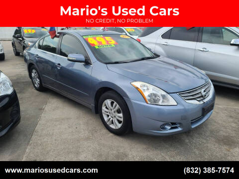 2012 Nissan Altima for sale at Mario's Used Cars - South Houston Location in South Houston TX