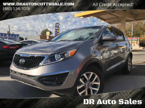 2015 Kia Sportage for sale at DR Auto Sales in Scottsdale AZ